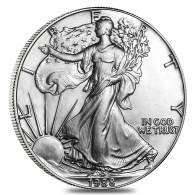 1988 1 oz Silver American Eagle Brilliant Uncirculated