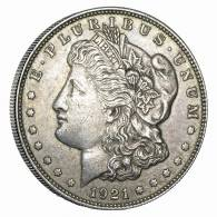 1921 Silver Morgan Dollar VG-XF