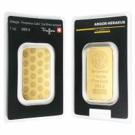 1 Oz Generic Gold Bar 9999 Fine Ira Approved In Assay