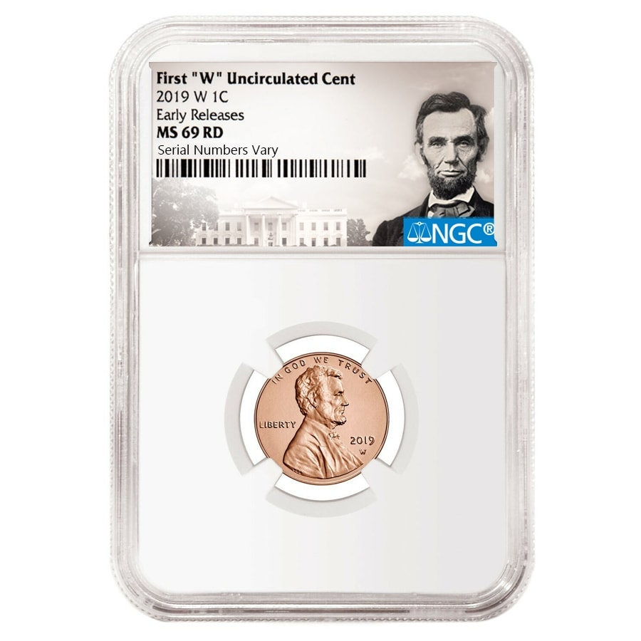 69 Lincoln Mark 3: 2019 W Uncirculated Lincoln Penny Cent Comm. NGC MS 69 ER