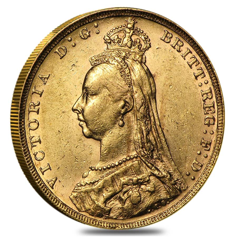 Gold Sovereign Victoria Jubilee Head