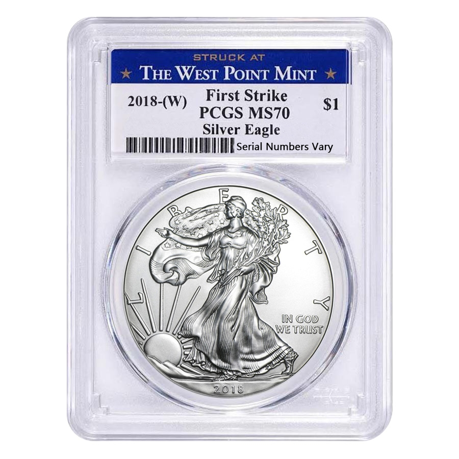 Sale Price 2018 W 1 Oz Silver American Eagle Coin Pcgs