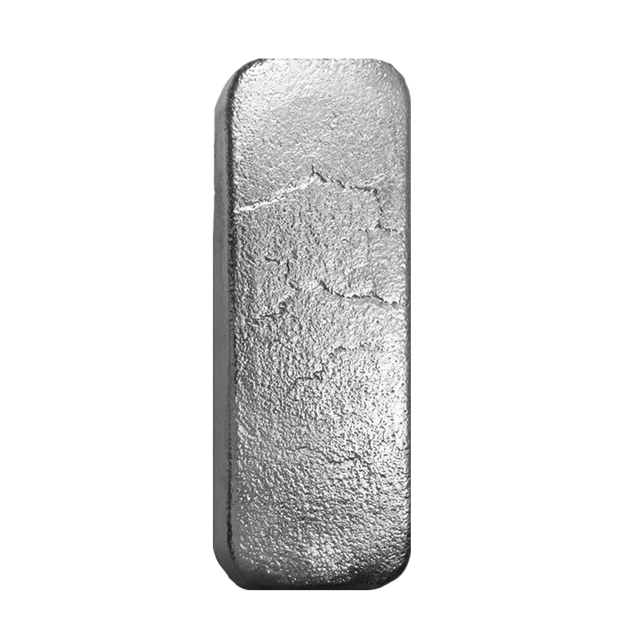 100 Oz Johnson Matthey Jm Silver Vintage Bar 999 Fine