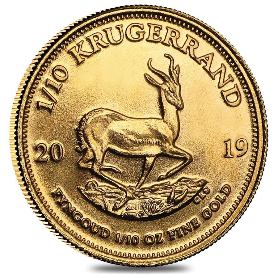 Lot Of 5 2019 South Africa 1 10 Oz Gold Krugerrand Bu Ebay