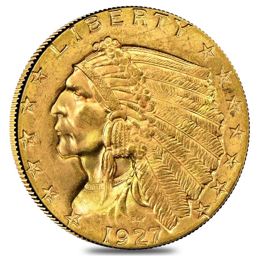 1927 2 5 Indian Head Quarter Eagle Gold Coin Ngc Ms 61 Ebay
