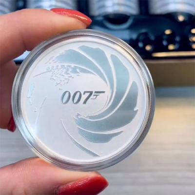 2020 James Bond 007 Silver Coin Unboxing