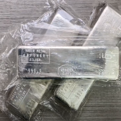 100 oz Nadir Refinery Silver Bar | Bullion Exchanges