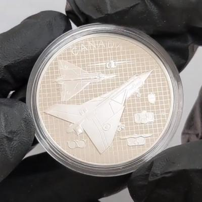 2021 Canada 1 oz The Avro Arrow Proof Silver Coin Unboxing at Bullion Exchanges