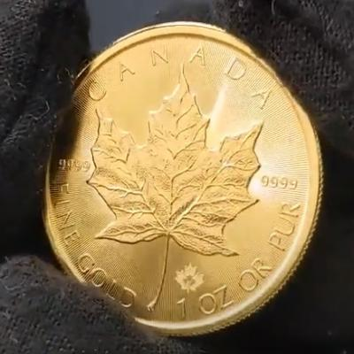 Gold Maples Coins - 2021 Gold Maple Leaf Coin at Bullion Exchanges