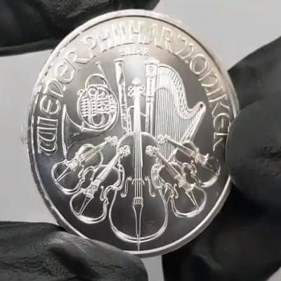 Roll of 20 - 2021 1 Silver Philharmonic Coin at Bullion Exchanges