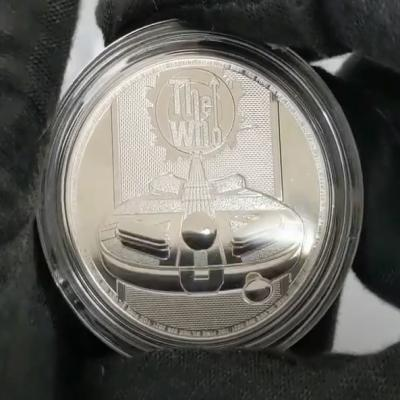 2021 Great Britain 1 oz Silver Music Legends The Who Coin by Bullion Exchanges