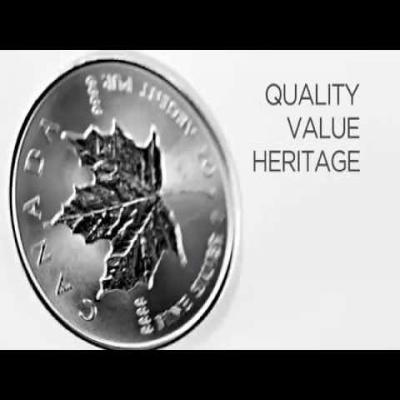 2015 1 oz Silver Canadian Maple Leaf .9999 Fine $5 Coin