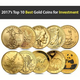 2017's Top 10 Best Gold Coins for investment