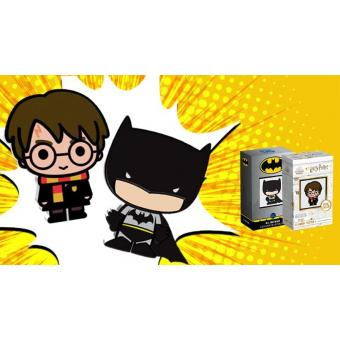 Batman and Harry Potter; Chibi Coins Couldn't Be Hotter!