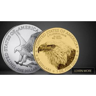 2021 American Eagle Coins' Reverse Redesign