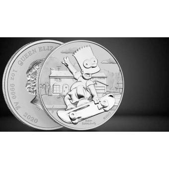 Collect The Perth Mint Silver Simpsons Coin Series!