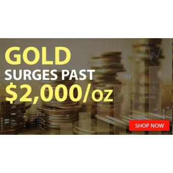 Glittering Gold Spot Prices JUMP HIGH